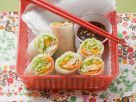 Mango Rolls with Smoked Trout recipe
