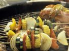 Marinated Vegetarian Kebabs recipe