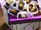 Marzipan Nougat Praline Chocolates and Pineapple Pralines recipe