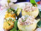 Meat and Vegetable Filled Baked Kohlrabi recipe