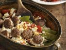 Meatball and String Bean Casserole recipe