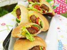 Meatballs Served in Pita Bread recipe