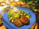Meatballs with Potato-Endive Salad recipe