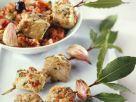 Med-style Fish Skewers recipe