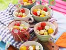 Melon, Tomato and Mozzarella Balls recipe