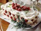 Meringue Cake with Raspberries recipe