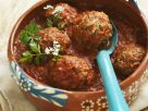 Mexican-style Meatballs with Tomato Sauce recipe
