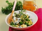 Millet with Nettles and Cheese recipe