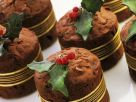 Mini Chocolate Walnut Holiday Cakes recipe