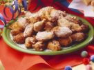 Mini Fritters with Cinnamon recipe