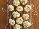 Mini Meringue and White Chocolate Cookies recipe