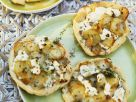 Mini Pizzas with Feta Cheese recipe