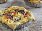 Mini Sweet Potato and Beet Quiche recipe