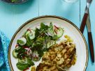 Mint and Cucumber Salad with Grains and Chicken recipe