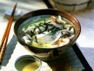 Miso Soup with Tofu and Radish recipe