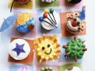 Mixed Decorated Cupcakes recipe