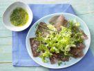 Mixed Fine Lettuces with Cider Vinaigrette recipe