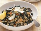 Mixed Grain Risotto with Kale recipe