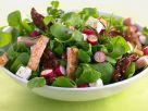 Mixed Green, Feta, and Chicken Salad recipe