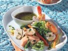 Mixed Greens with Seafood recipe