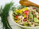 Mixed Healthy Farfalle Bowl recipe