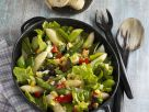 Mixed Leaf Salad with Egg and Asparagus recipe