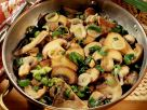 Mixed Mushrooms with Scallions and Thyme recipe