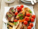 Mixed Meat and Vegetable Grill Plate recipe