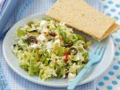 Mixed Salad with Chickpeas and Feta recipe