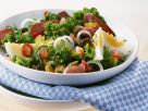 Mixed Salad with Kale and Duck Breast recipe