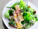 Mixed Salad with Smoked Eel recipe