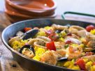 Mixed Seafood Paella recipe