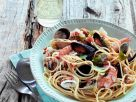Mixed Seafood Pasta Bowl recipe