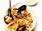 Mixed Seafood with Potatoes recipe