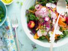 Mixed Vegetable and Stone Fruit Salad recipe