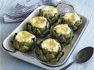 Mozzarella-stuffed Artichokes recipe