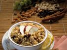 Muesli with Quinoa, Raisins, Nuts and Apple recipe