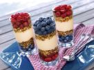 Muesli with Yogurt Cream and Fruit recipe