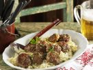 Munich-Style Meatballs over Sauerkraut recipe