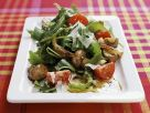 Mushroom and Arugula Salad recipe