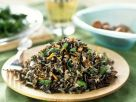 Mushroom and Asparagus Wild Rice recipe