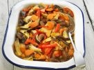 Mushroom and Mixed Veggie Bake recipe