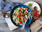 Mushroom and Vegetable Ragout with Tofu and Tomatoes recipe