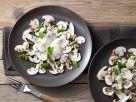 Mushroom Parmesan Carpaccio recipe