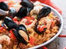 Mussel and Prawn Spanish Rice recipe