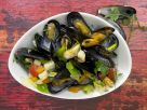 Mussels in Vegetable Broth recipe