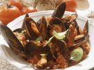 Mussels with Tomatoes and White Wine recipe