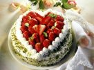 Neapolitan Cake with Strawberries recipe