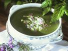Nettle and Morel Soup recipe