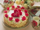 Noble Champagne Cake with Roses recipe
